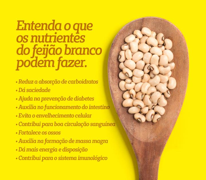 Feijão Branco - Faseolamina - Para Perder Peso e Emagrecer